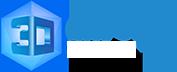 3D Crystal Outlet Logo